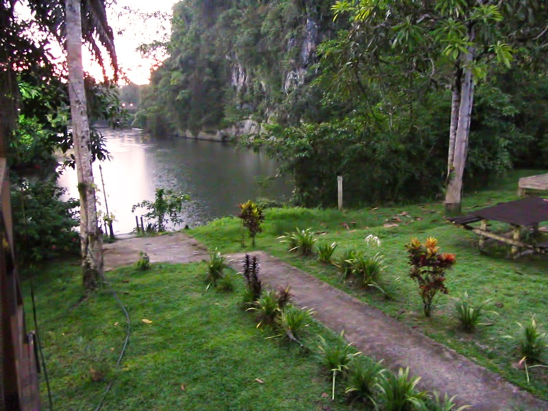 Jetty at Benarat Lodge